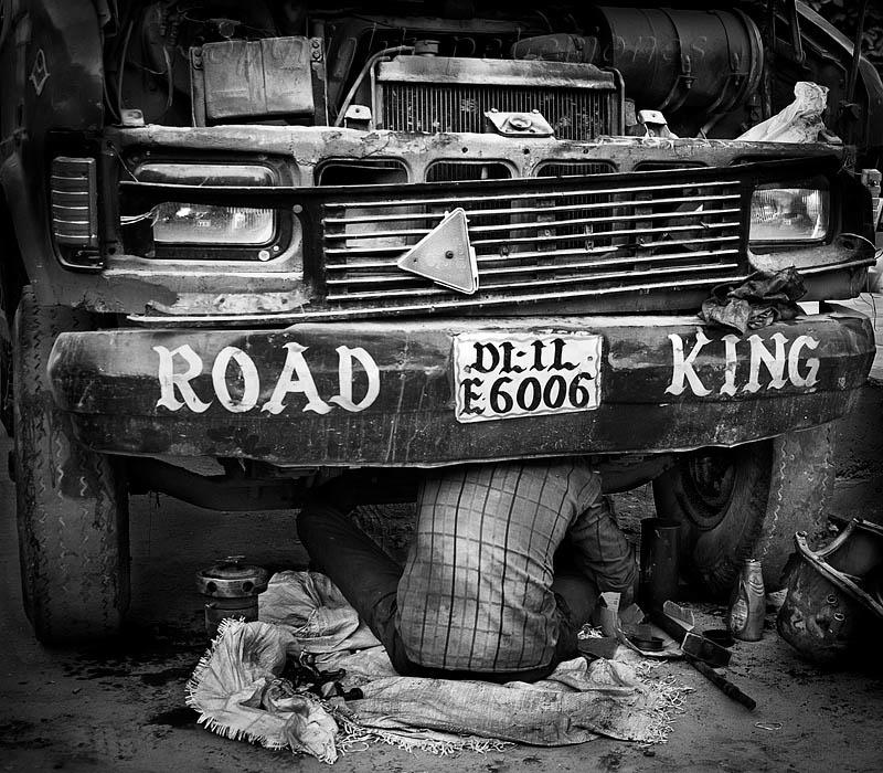 The Bike Market,Delhi, India. by Peter Jones