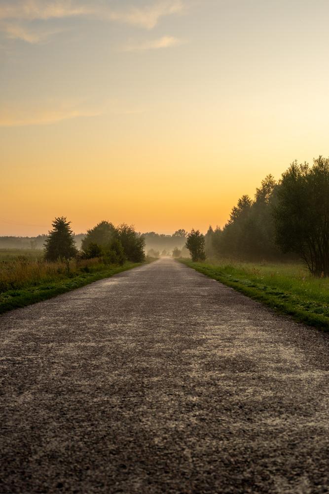 My road by Jakub Krysiewicz