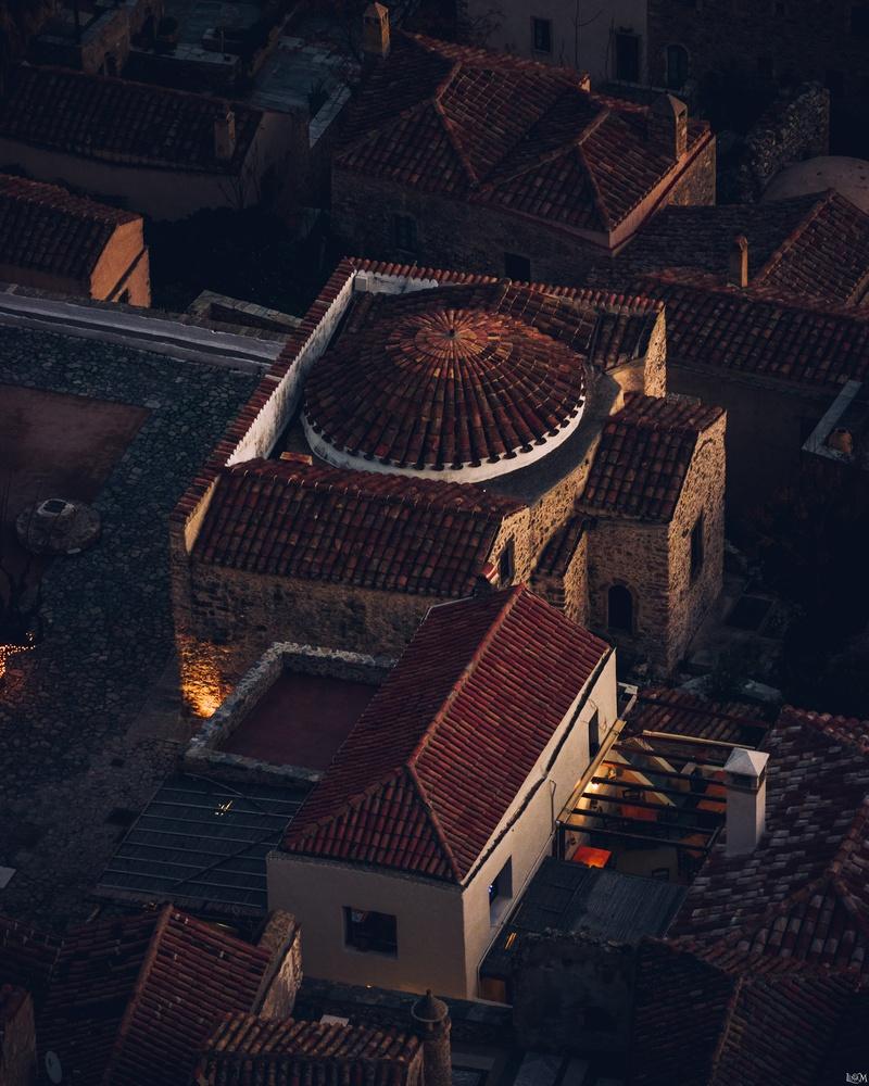 Church in Monemvasia by Lina Magoula