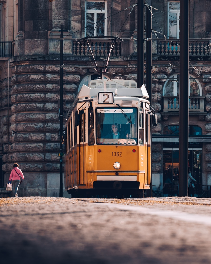 Tram Line 2 in Budapest by Lina Magoula