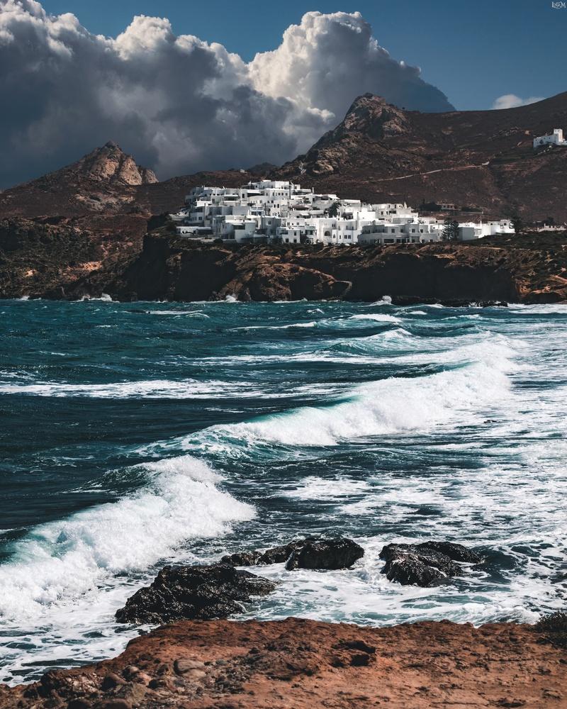 Naxos Island by Lina Magoula