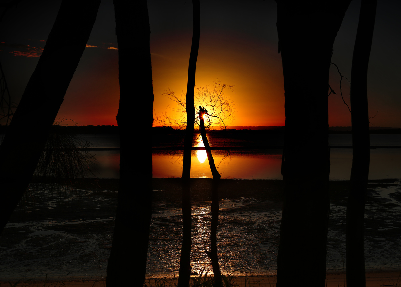 Bribie Sunset by Bruce Pryde
