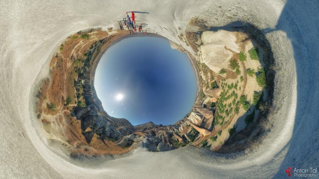'Cappadocia Hills 360º' by Anton Tal
