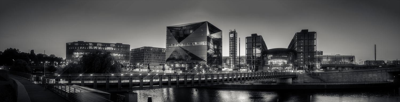 'Berlin Hauptbahnhof After Dark' by Anton Tal