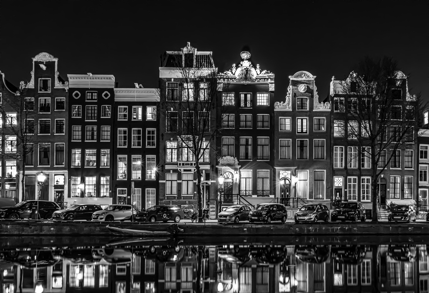 Singel, Amsterdam by Mark Brueggenjohann