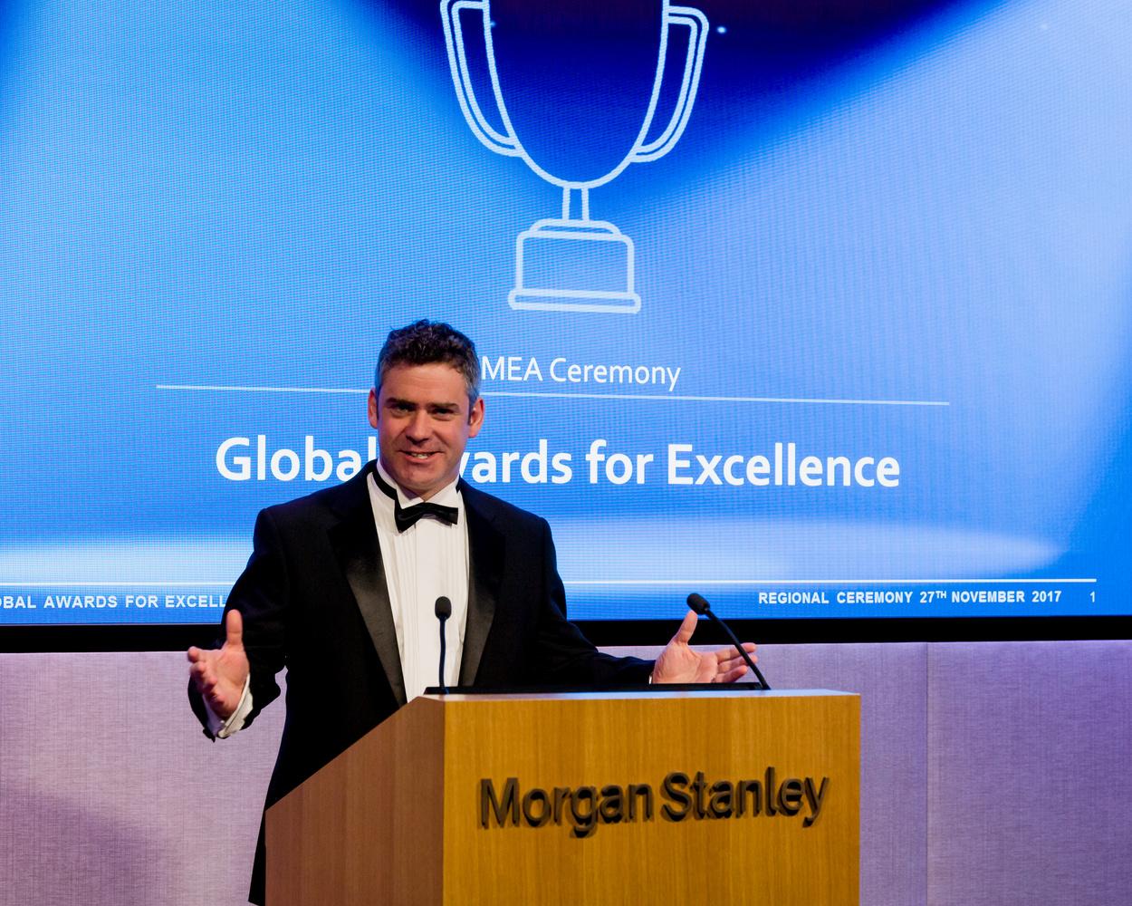 Corporate Awards Ceremony Speaker by James Barton