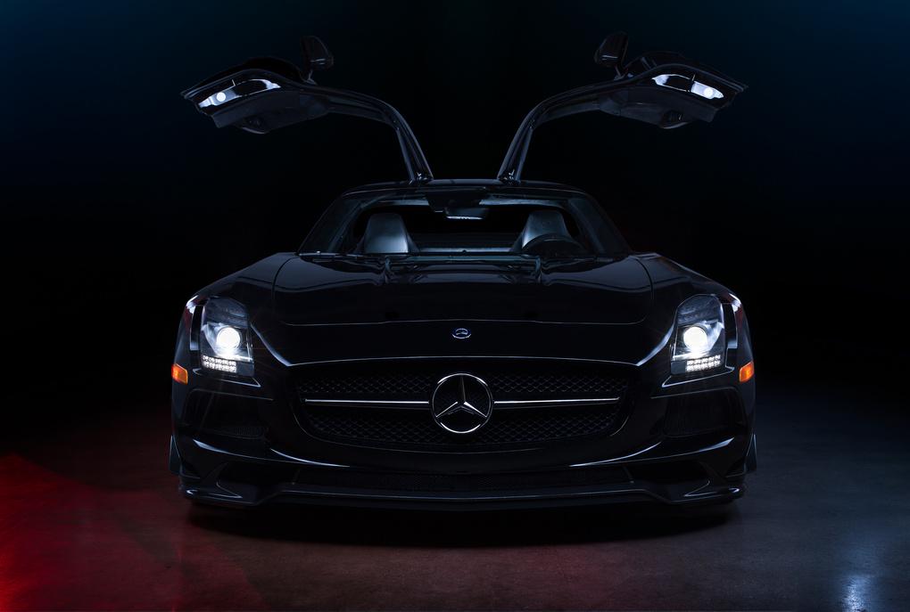 Mercedes-Benz SLS Black Series by Gregory Tillman