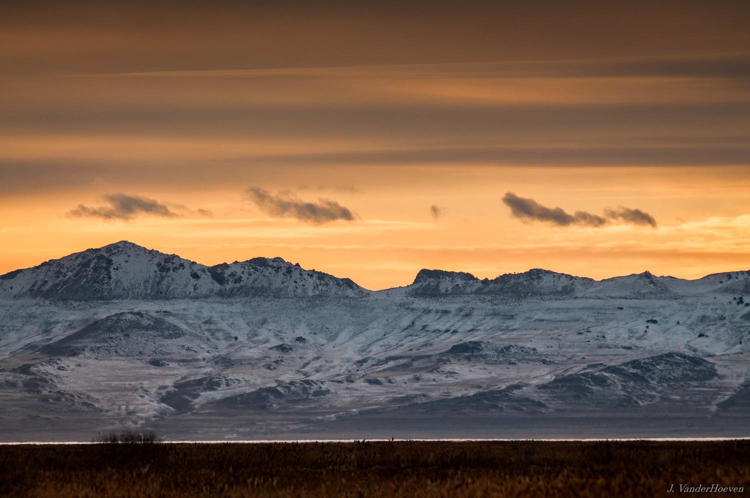 Great Salt Lake Sunset by Jake VanderHoeven