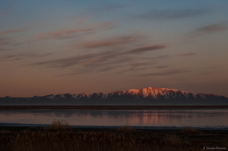 Sunrise over the Wetlands by Jake VanderHoeven