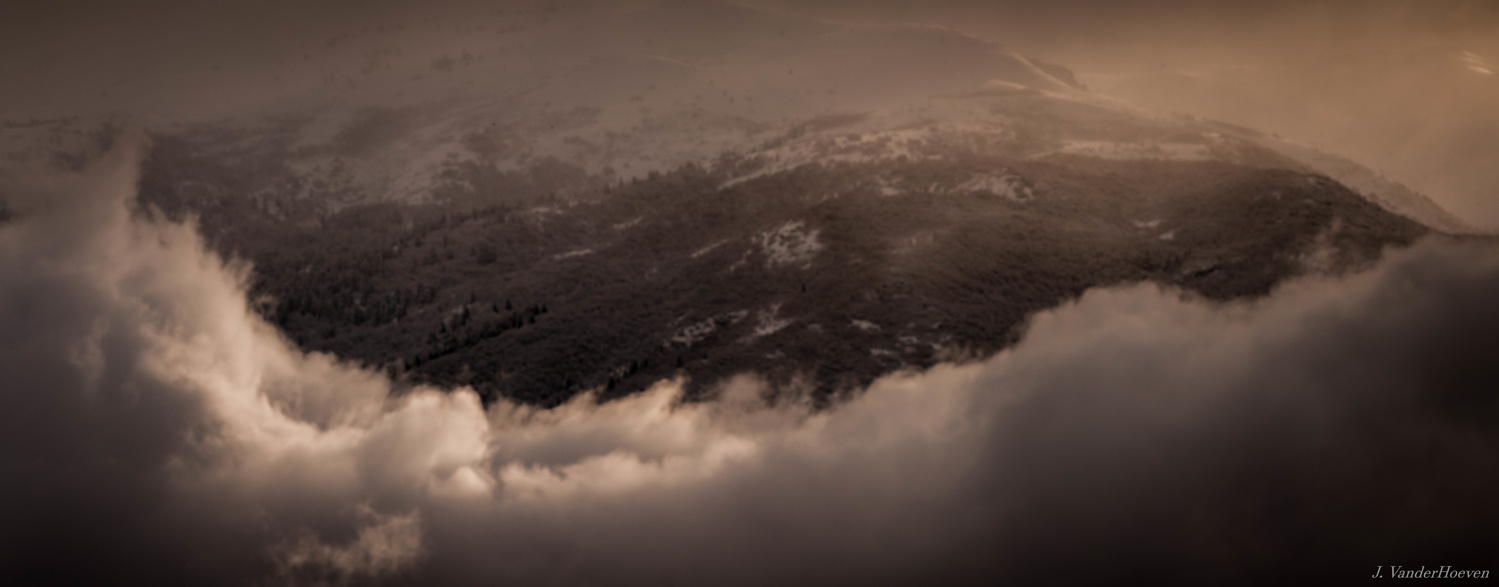 Mountain Clouds by Jake VanderHoeven