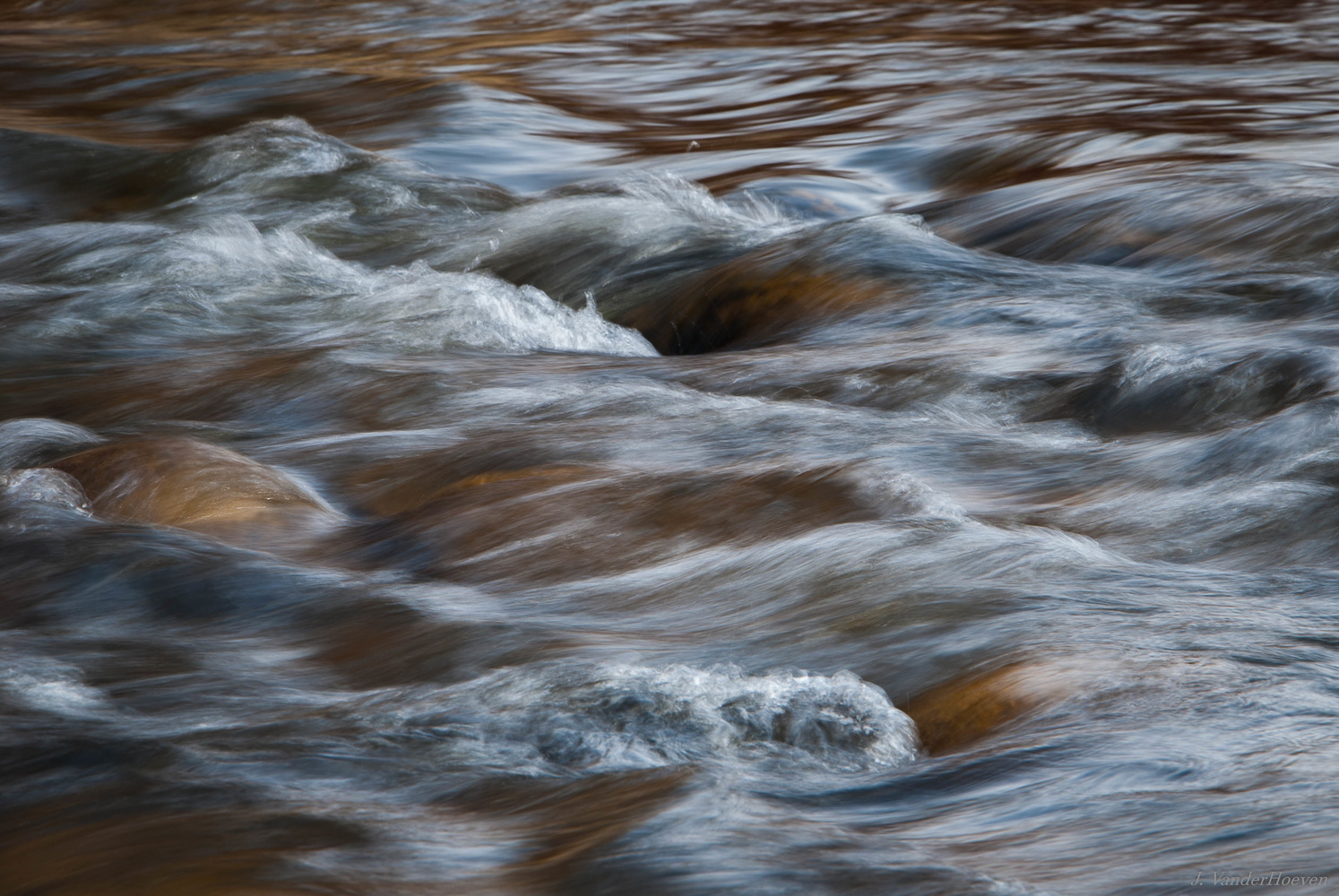River Flow by Jake VanderHoeven