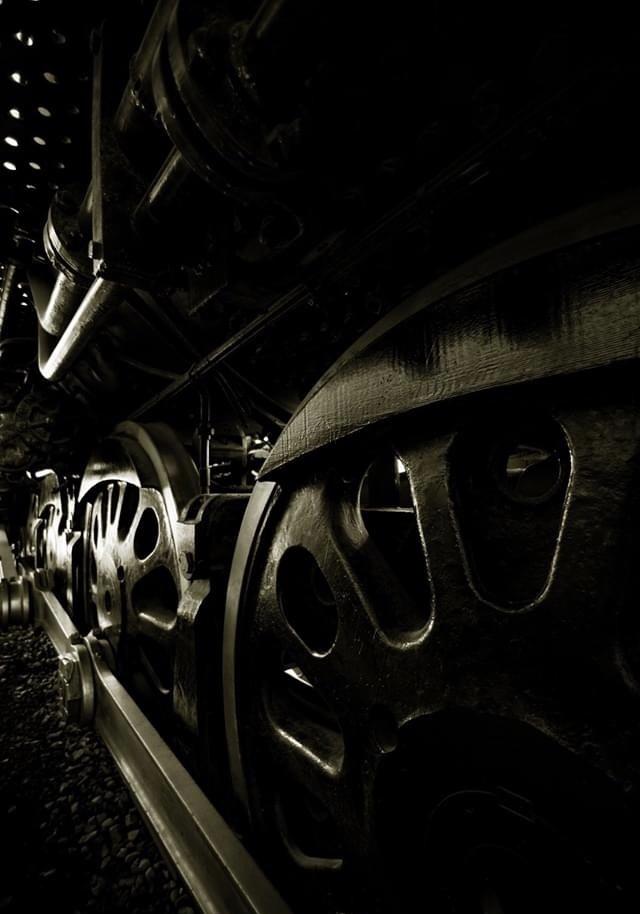 Steel Wheels - Steam Locomotive by Jake VanderHoeven