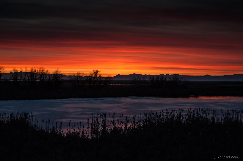 Sunset Red by Jake VanderHoeven