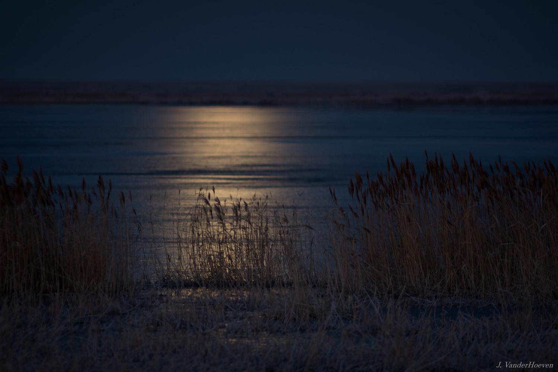 Moonshine - Great Salt Lake by Jake VanderHoeven