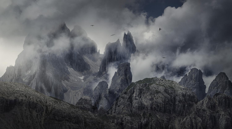 Burning Mountains by José D. Riquelme