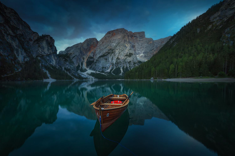 The Boat by José D. Riquelme
