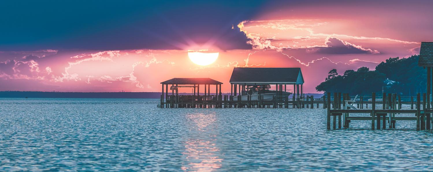 Setting Sun by Thomas Fiscella