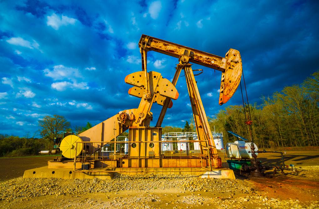 Pump jack in East Texas by Matt Bennett