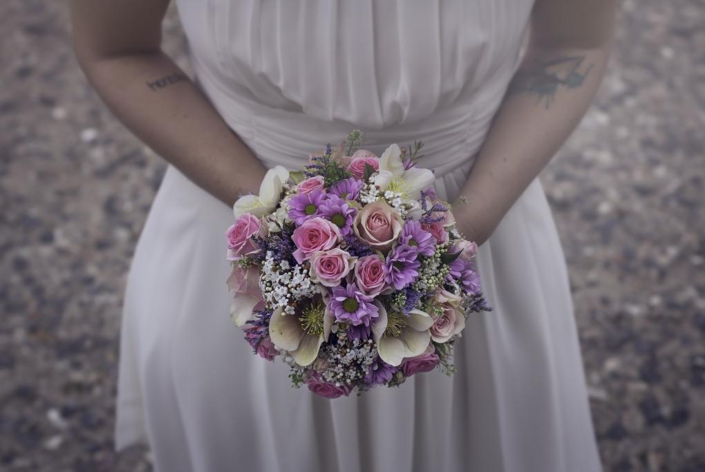 The Bride's Bouquet. by Marian von Charlottenburg