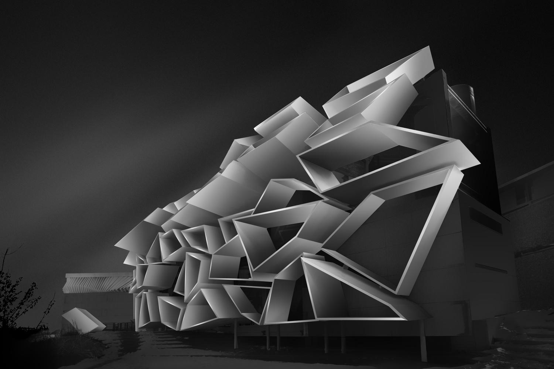 B building by Amirhossein Naghian