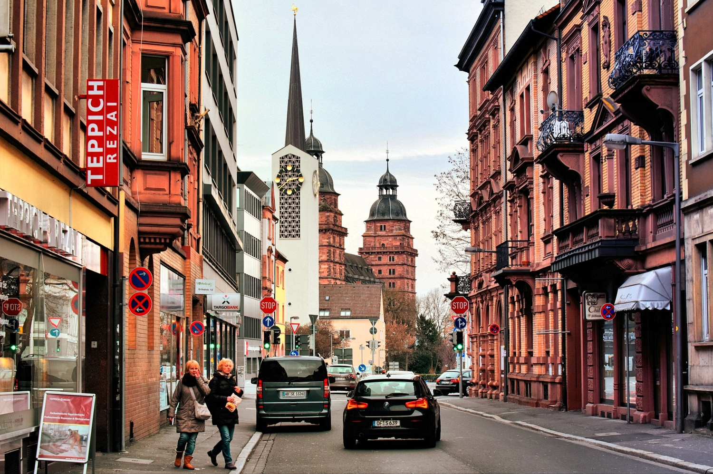 Downtown Aschaffenburg by Kenny Simpson