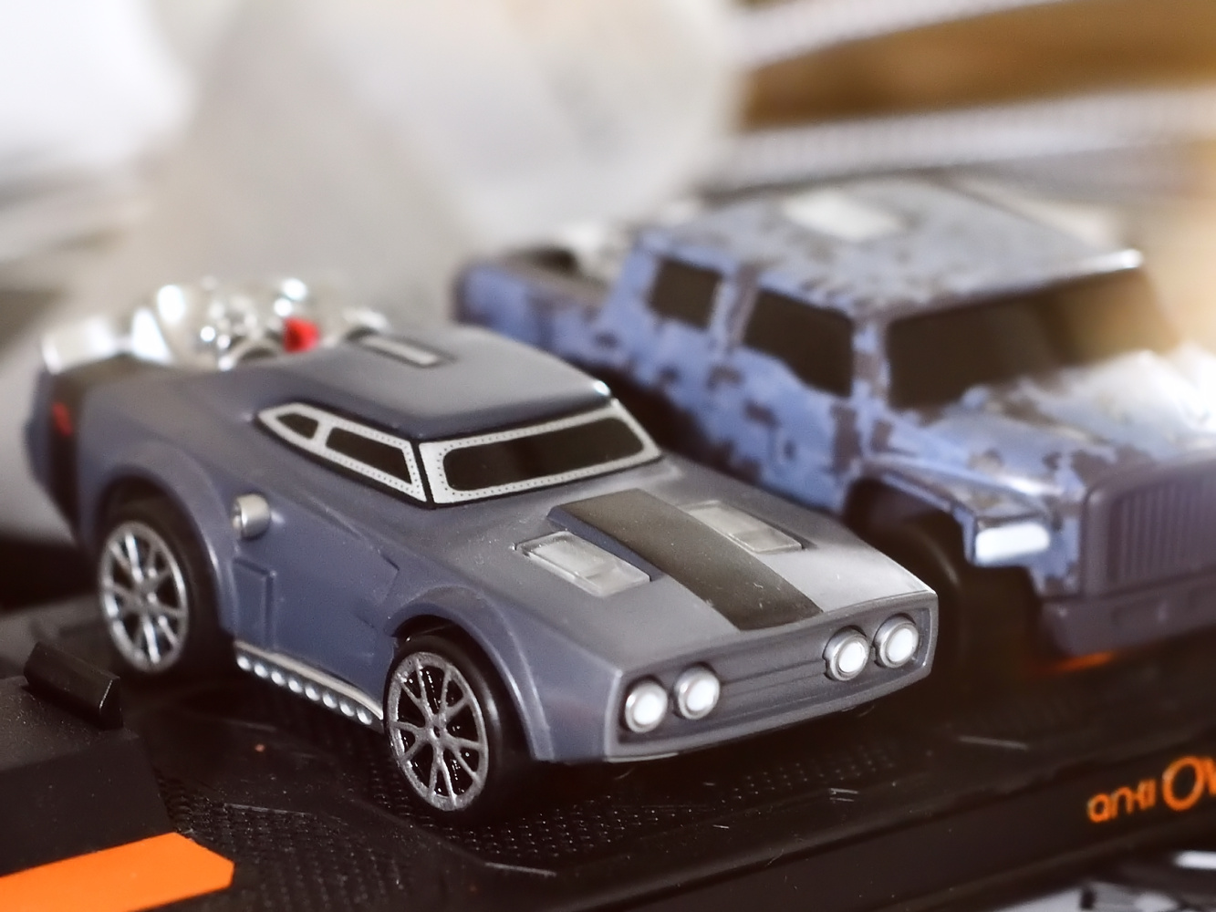 Toy cars by Kenny Simpson