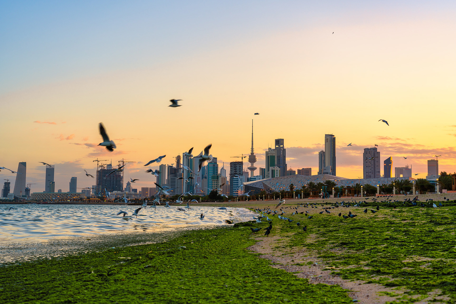 Kuwait city by meshal alawadhi