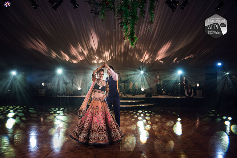 First Dance | Asian Wedding in Cheshire by Jay Hoque