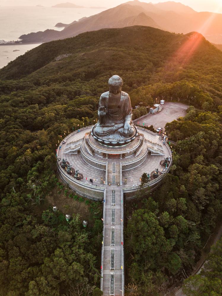 The Big Buddha by Michael Sarlitt