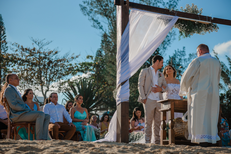 Brazil Beach Wedding by Diego Dahmer