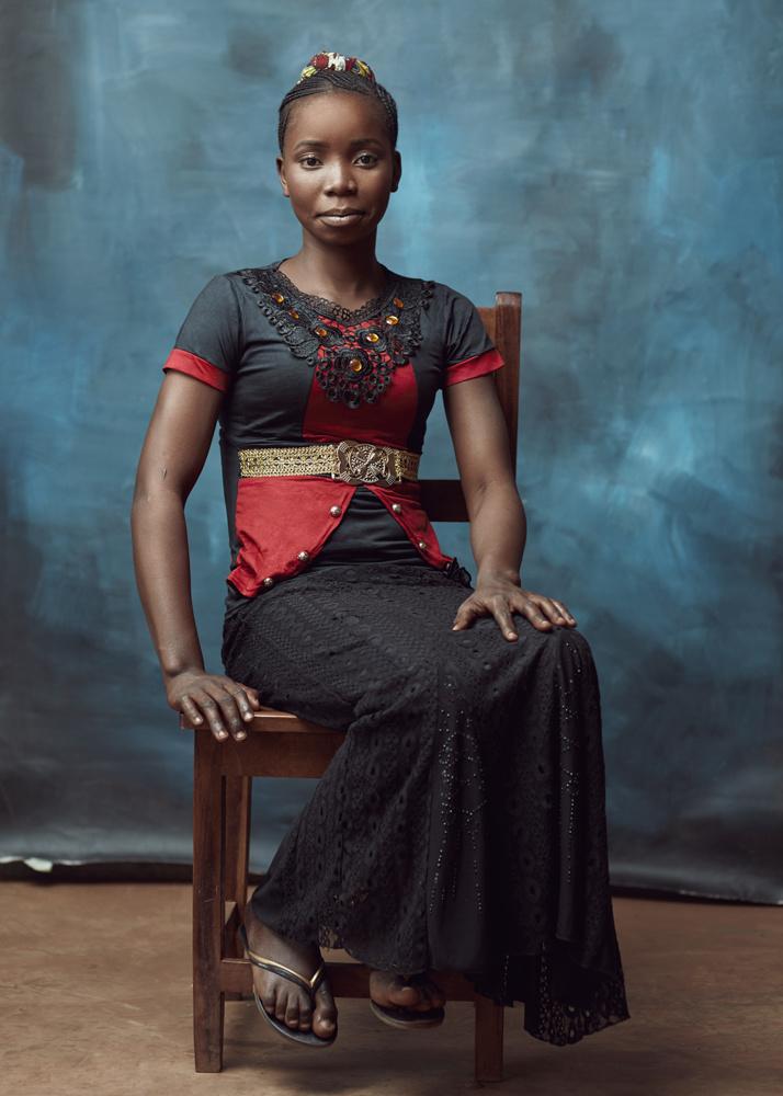 Eliane Ilunga by Barry Harley