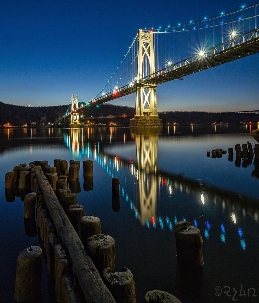 Mid-Hudson bridge, Poughkeepsie NY by Ryan Hoch