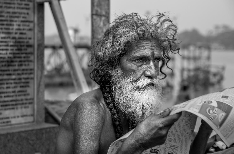 The gaze by Avishek Ghosh