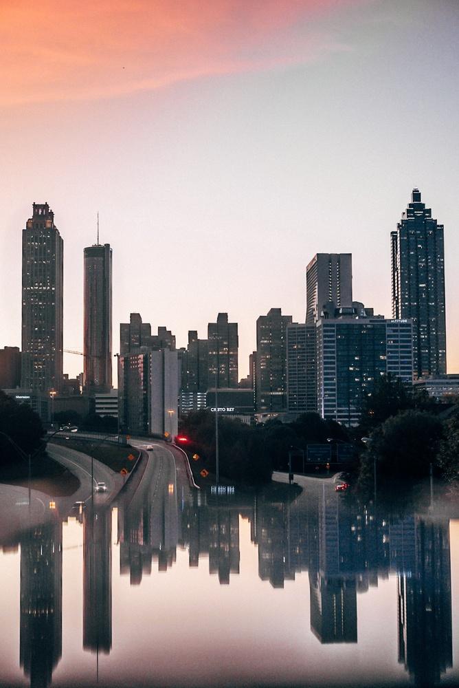 Jackson state bridge Atlanta by Nicolas Lozoya