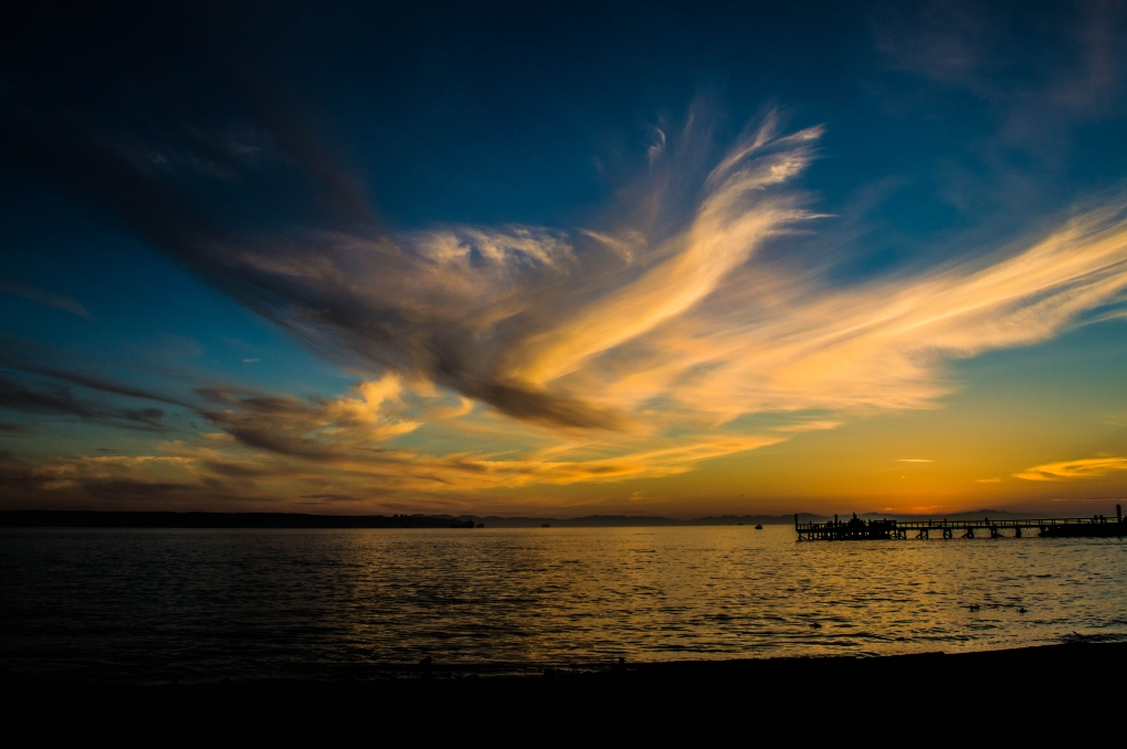 Ambleside sunset by Ryan Doherty