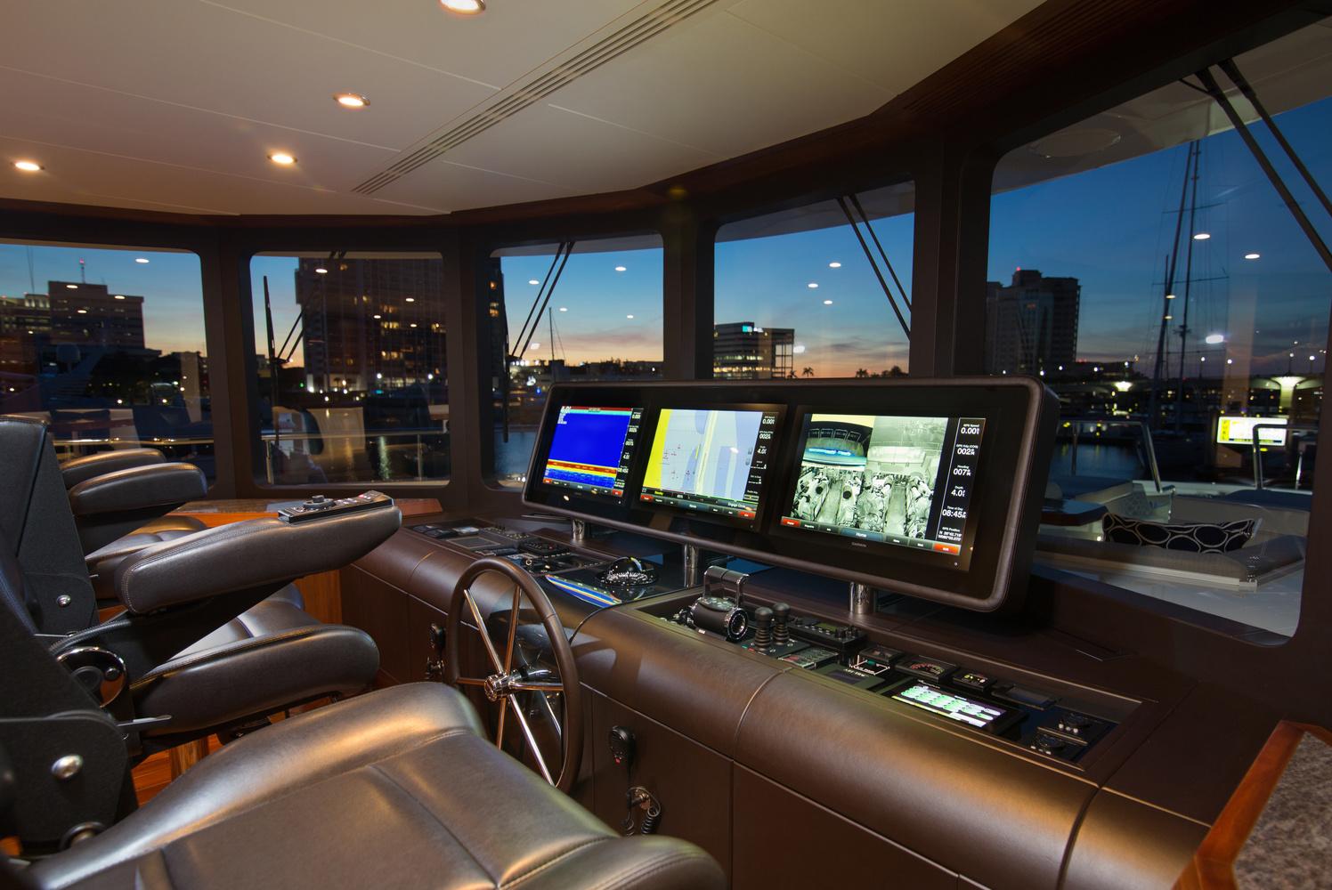The cockpit by Brad Kearns