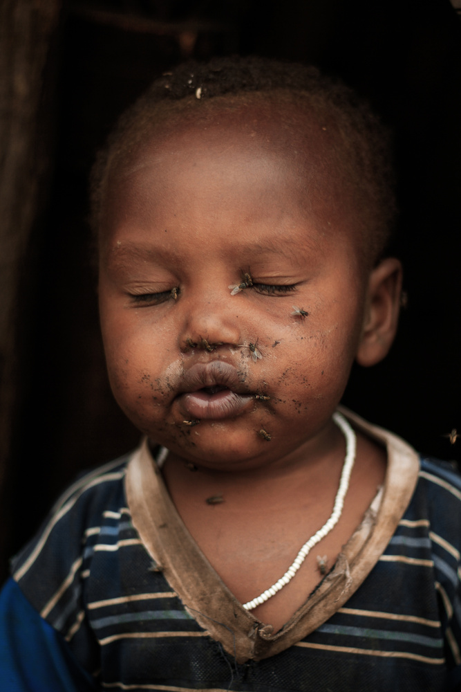 strong photo of a strong child by Peder Kongshaug