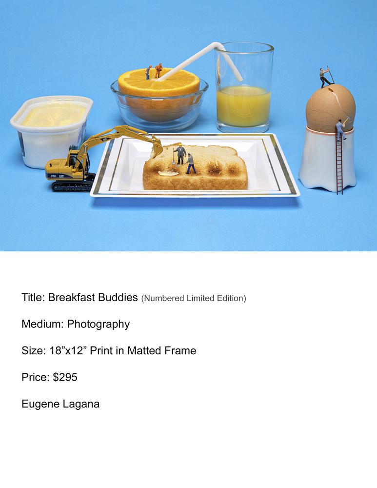 Breakfast buddies by Eugene Lagana