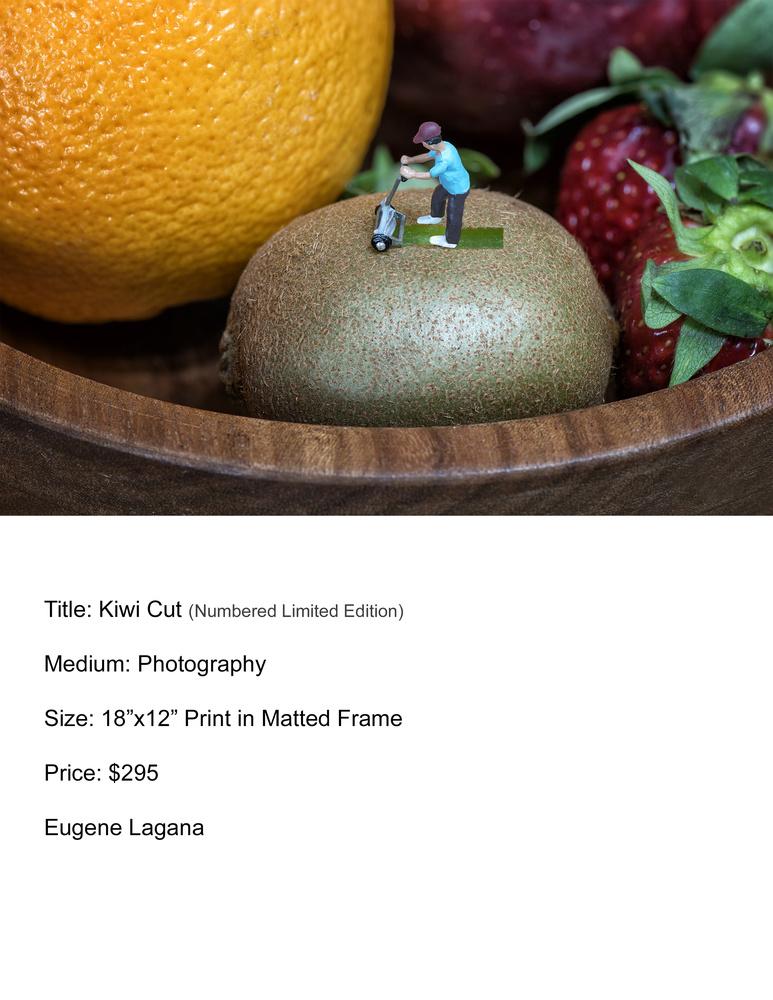 Kiwi cut by Eugene Lagana