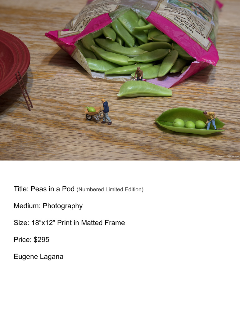 Pea preparation by Eugene Lagana