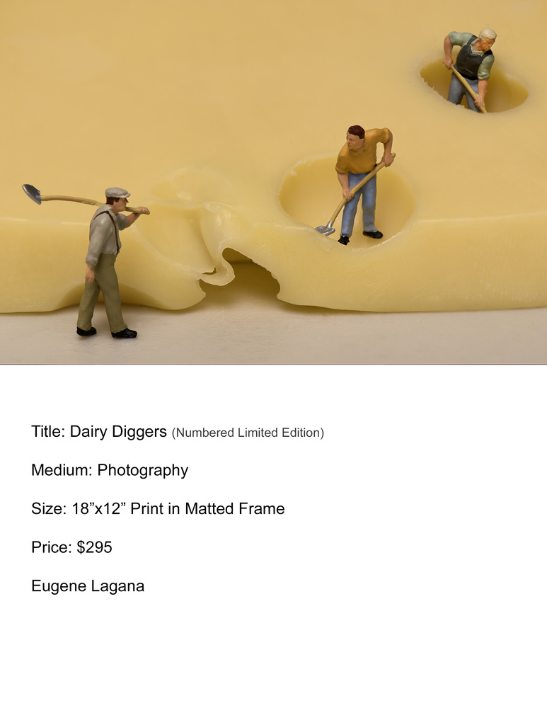 Dairy diggers by Eugene Lagana