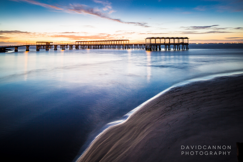 Golden Isles Sunset by David Cannon