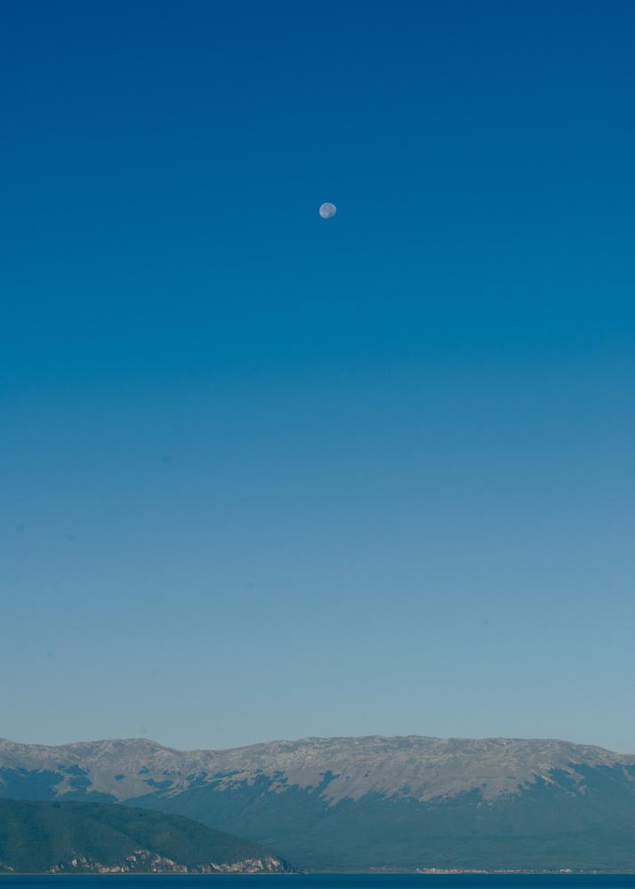 Moon over Prespa by Ljupcho Vasilevski
