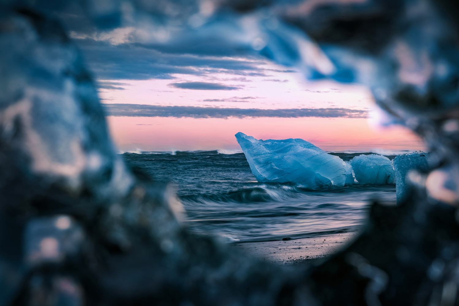 Eye of Ice by Jakob Alecu de Flers