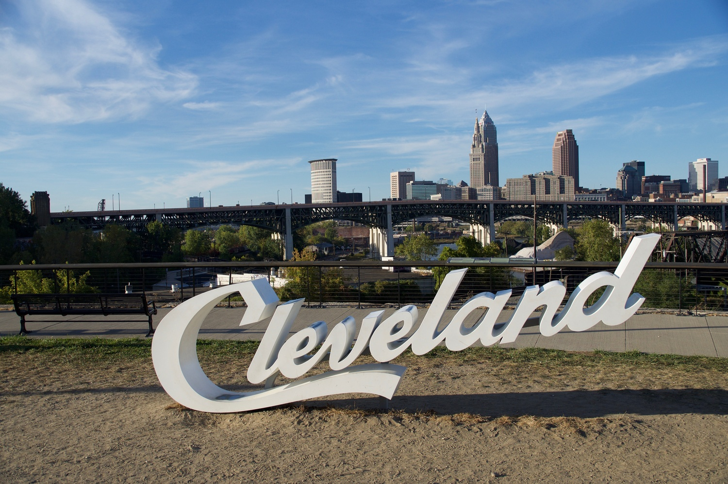 Cleveland sign SW by Eric Kremer