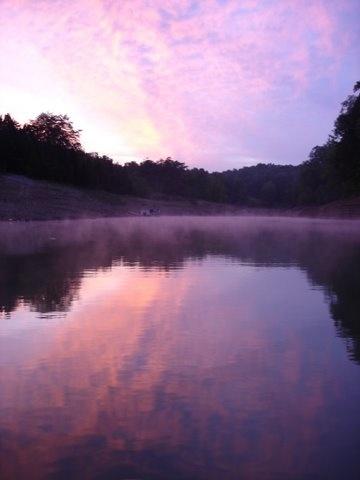 Kayaking at dawn by Eric Kremer