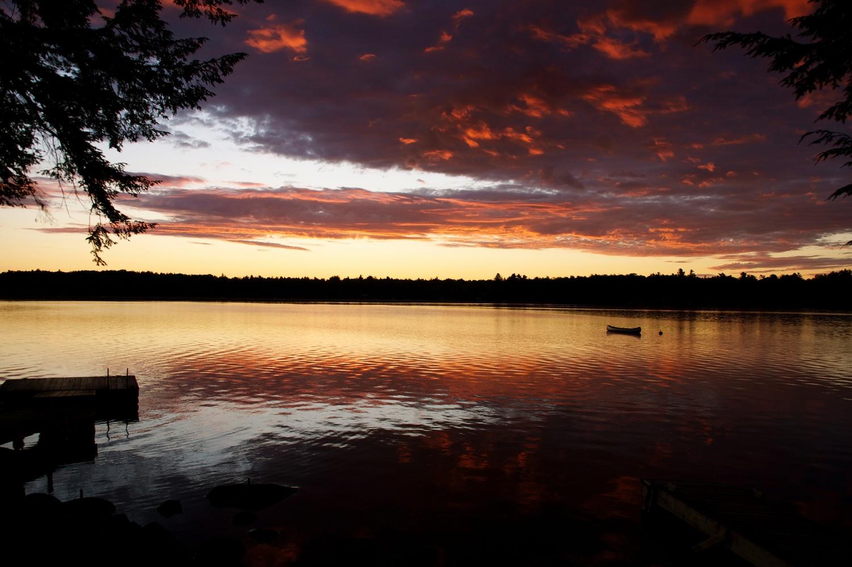 Sunrise in Maine by Eric Kremer