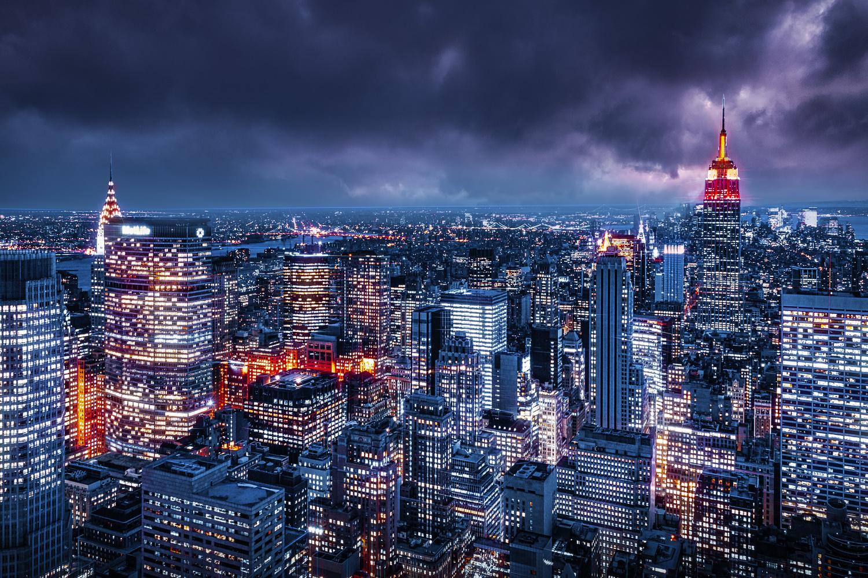 New York Nigh by Alex Hill