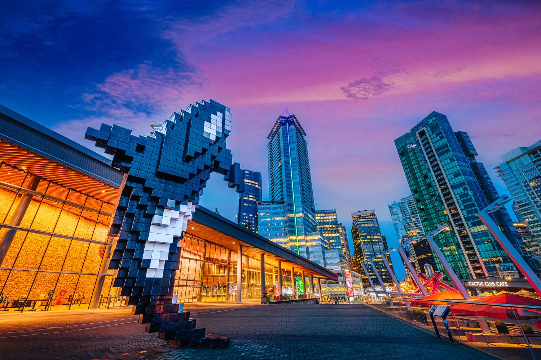 Vancouver Skyline by Alex Hill
