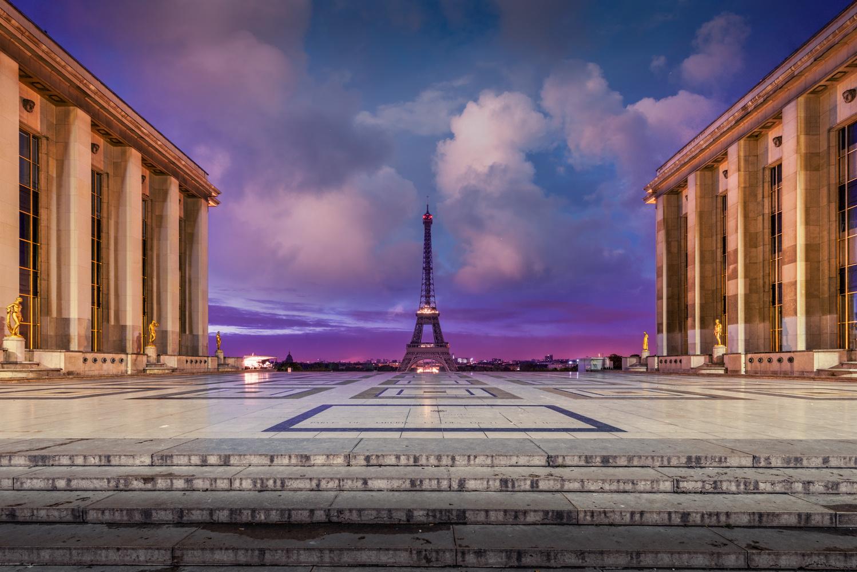 Place du Trocadéro by Alex Hill